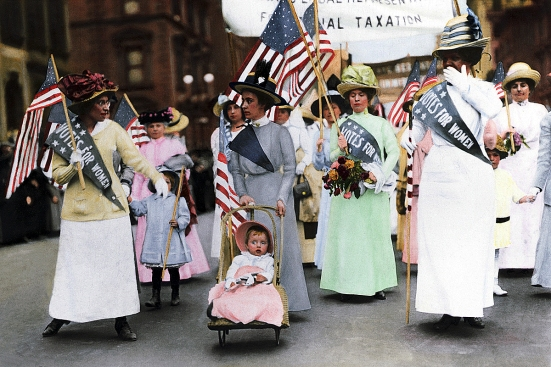Suffragist Parade in New York